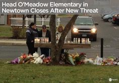 Local officials closed a Newtown, CT elementary school following a threat on what would have been the first day of classes since the Sandy Hook shooting. Story: http://abcn.ws/U6PkNo
