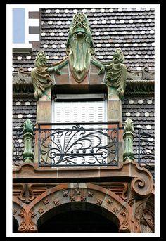 Immeuble Lavirotte (Bigot, avenue Rapp) [1900-01]- Paris VII | Flickr : partage de photos !