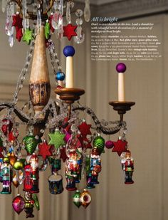 photo from Living Etc. (could do this for every holiday!)