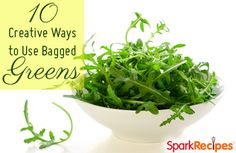 Unconventional Ways to Use Bagged Greens
