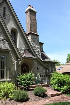 Some classic features of English Cottages include: Steep roof lines, slate roofs, steep Tudor House, Tudor Cottage, Cozy Cottage, English Cottage Style, English House, French Cottage, English Cottages, English Tudor, Storybook Homes