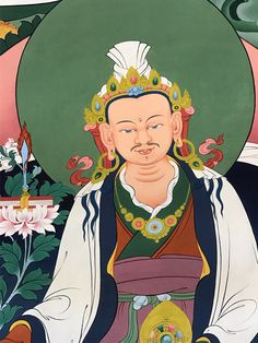 King Trisong Detsen (Tib. ཁྲི་སྲོང་ལྡེ་བཙན་ or Trisong Deutsen [Déu tsen] (ཁྲི་སྲོང་ལྡེའུ་བཙན་) (742-c.800/755-797 according to the Chinese sources) – the thirty-eighth king of Tibet, second of the three great religious kings and one of the main disciples of Guru Rinpoche.  #ColoringForMeditation #TibetanArt #TibetanColoring #Thangka #BuddhistArt #BuddhistColoring