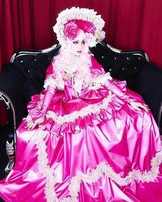 Pink Princess, Visual Kei, Crossdressers, Ruffle Blouse, The Originals, Rose, Inspiration, Outfits, Dresses