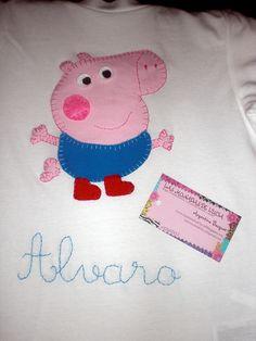 camiseta george pig by lasmonadasdelucia, via Flickr
