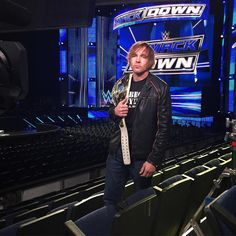 """Don't miss #WWE #IntercontinetalChampion #DeanAmbrose tonight on @ESPN @sportscenter at 9pm ET! #ESPNNews"""