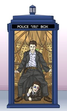 Oppa TARDIS Style. Heeeeyy my companion.  Or  Oppa Doctor Styly. Heeeeey I'm Captain Jack.  Or  Oppa Doctor Style. Heeeey I'm Jack Harkness.
