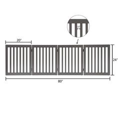 unipaws Freestanding Wooden Dog Gate *** (paid link) You can find out more details at the link of the image.