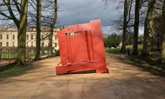 Vespers, 1972-1974, sculpture by Anthony Caro at Chatsworth in Derbyshire, home to the Duke of Devonshire.