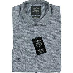 Navy Slim Tile Print Shirt Formal Shirts, Tk Maxx, Blue Tones, Shirt Outfit, Printed Shirts, Tile, Polo Ralph Lauren, Navy, Long Sleeve