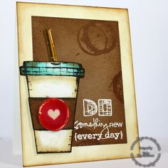 Clips-n-Cuts | Coffee love| Giveaway | http://www.clips-n-cuts.com using Tim Holtz, Ranger, Idea-ology, Sizzix and Stamper's Anonymous products; Apr 2015