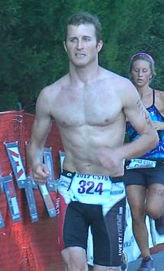 Kasey Kahne, driver and triathlete!