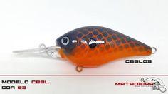 Isca Matadeira modelo cbbl03 #cbbl #cbbl03 #matadeira #fishing #blackbass #traíra #bigbass #bassmonster