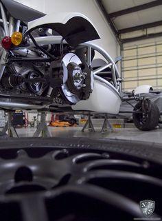 Ariel Atom wheels get Powder Coated Black