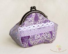 """Many people wonder about the process and the intricacies of sewing purse - """"puhlyashki."""" So I will try a little to lift the veil and show how this process occurs to me..."""