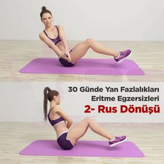 30 Günde Yan Fazlalıkları Eriten Yöntem Actions that burn the side oils Workout Diet Plan, Pilates Workout, Butt Workout, Exercise, Gym Workouts, Fitness Outfits, Dieta Fitness, Fitness Diet, Mens Fitness