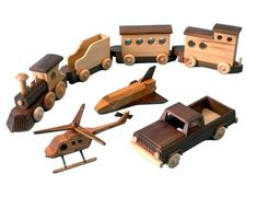 R14-1463 - Wooden Toys Vintage Woodworking Plan Set all 4 designs included