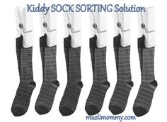 Sock Sorting Solution With Many Kids