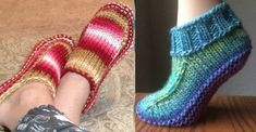 Ladies Knitted Slipper Boots Free Patterns You'll Adore You'll love these Ladies Knitted Slipper Boots Patterns and they are easy to make and look great. Check out the cute collection of Free Patterns now. Ladies Cardigan Knitting Patterns, Knitting Patterns Free, Free Knitting, Knitted Booties, Knitted Slippers, Knit Slippers Free Pattern, Slipper Boots, Knitting Socks, Boyfriend Crafts