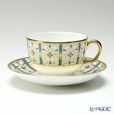 Wedgwood basilica tea cup and saucer