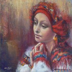 Женский украинский национальный костюм