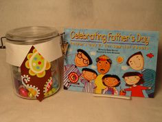 Make a fun dad-themed candy jar and treat dad to candy and a story! All you need is CTP's Celebrating Father's Day reader, a canister, dad's favorite candy, white paper, and CTP's Paisley on Brown Border.