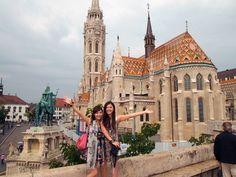 joanne的旅遊日誌: day4-藍色多瑙河之布達佩斯 @ 我們一天的行程: 鎖鏈橋--->漁夫堡(hahaszbastya)--->布達皇宮--->蓋勒特溫泉(gellert gyogyfurdo)-->中央市場(nagy vasarcsa rnok)-->多瑙河畔船上晚餐