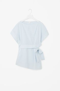 COS   Belted sleeveless top