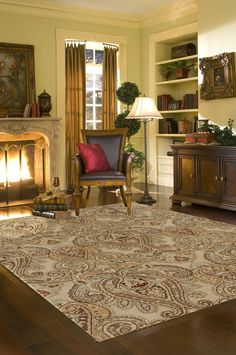 In love with that rug!
