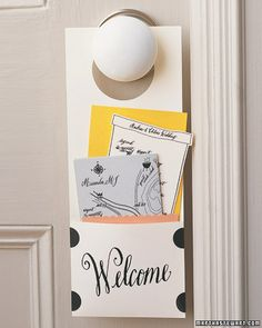 Try these hotel-inspired tricks to make your guest room its very own coveted destination. A welcome card with important ...