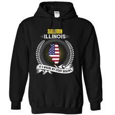 Born in SULLIVAN-ILLINOIS V01 - #gift for teens #grandma gift. LOWEST SHIPPING => https://www.sunfrog.com/States/Born-in-SULLIVAN-ILLINOIS-V01-9923-Black-Hoodie.html?68278