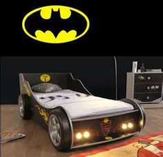 Batman bed! This is Awesome
