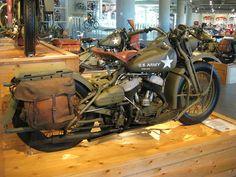 Harley war horse