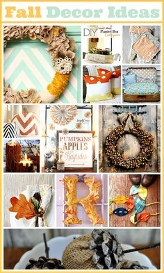 Autumn is officially here! Check out 15 ways to decorate for fall!
