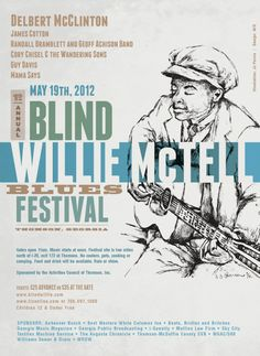 Real bluegrass legends-The 19th Annual Blind Willie McTell Blues Festival - May 19th in Thomson.