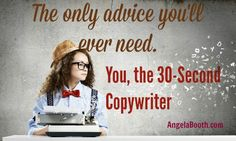 Copywriters sell. They make money. If you're a struggling writer, and you'd like to become a copywriter, you can become one in 30 seconds: http://www.fabfreelancewriting.com/blog/2014/05/12/30-second-copywriter/