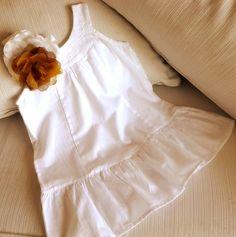 must have - Vestido de Algodón 100& Blanco.  Comprar o consultar en  Facebook MICCA  HELLERS o Mercado Libre