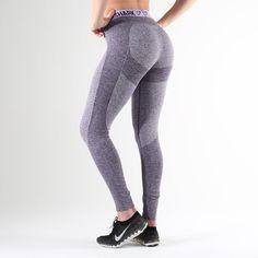 Gymshark Flex Leggings - Rich Purple Marl/Soft Lilac