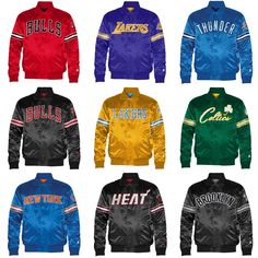Starter Brand teams up with Foot Locker releasing some retro clothing in  the form of satin NBA jackets. 9c040250e