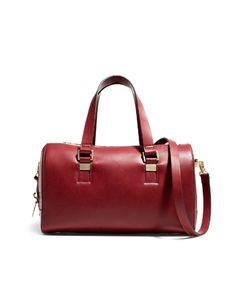 BOWLING BAG WITH METALLIC ORNAMENT ON HANDLES - Handbags - Woman - ZARA United States