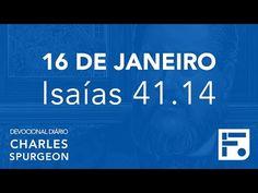 Voltemos Ao Evangelho | 16 de janeiro – Devocional Diário CHARLES SPURGEON