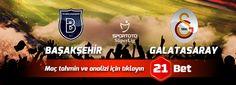 Başakşehir - Galatasaray Iddaa Analizi #iddaa #tahmin