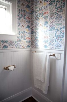 Before & After: A Country Home Gets A Powder Room & Living Room Update   Design*Sponge