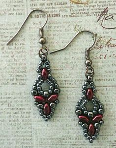 Linda's Crafty Inspirations: A few more Elinor Earrings