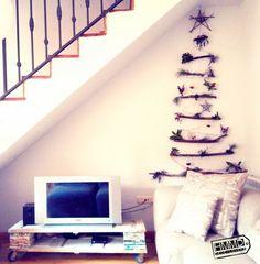 Arbol navidad DIY decoracion