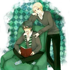 Harry Potter ~ Drarry Draco Malfoy x Harry Potter
