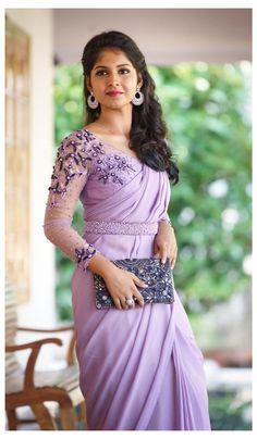 Wedding Saree Blouse Designs, Pattu Saree Blouse Designs, Half Saree Designs, Saree Blouse Patterns, Fancy Blouse Designs, Saree Wedding, Saree Jacket Designs Latest, Brocade Blouse Designs, Blouse Batik