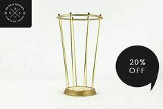 Minimalistyczny parasolnik Design lata 60 / 70te