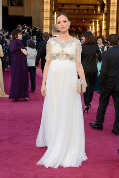 Actress Georgina Chapman arrives at the Oscars at Hollywood & Highland Center on February 24, 2013 in Hollywood, California.