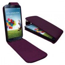 Funda Samsung Galaxy - Slim - Violeta - Incluye Mica S/. Fundas Samsung Galaxy S4, Capa Samsung Galaxy, Smartphone, Capas Samsung, Tablets, Galaxies, Mexico, Screensaver, Purple