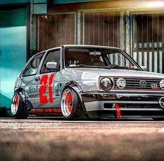Volkswagen Golf Mk1, Vw Mk1, Vw Motorsport, Old School Cars, Vw Cars, Modified Cars, Car Car, Cars And Motorcycles, Cool Cars
